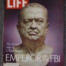 LIFE  MAGAZINE- Apr 9, 1971- J. EDGAR HOOVER OF THE FBI