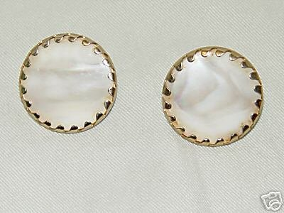 Vintage SARAH COVENTRY  Faux Pearl Earrings