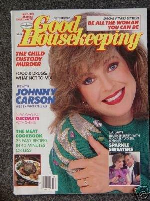GOOD HOUSEKEEPING Magazine- October 1987