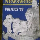 NEWSWEEK MAGAZINE - January 8, 1968