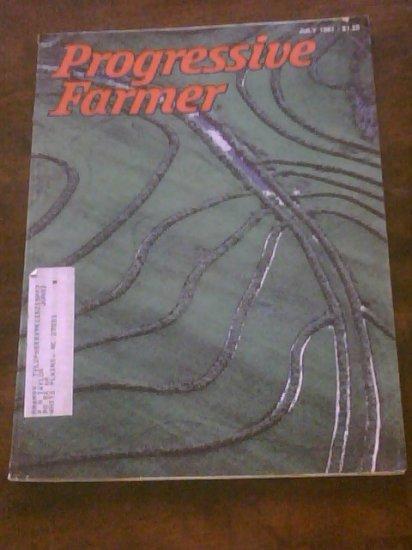 PROGRESSIVE FARMER MAGAZINE- July 1981 - Mid  South