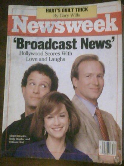 NEWSWEEK MAGAZINE - December 28, 1987