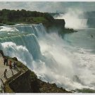 Vintage Print Niagara Falls from Early Photo 8x10 Litho