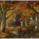 Vintage Print Gorgeous Autumn Arneyger 8x10