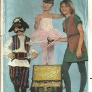 Childs Vintage Peter Pan Costume Sewing Pattern Butterick 4010 Size 7, 8, 10