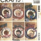 McCalls 3881 Country Wreath Of The Month Craft Sewing Pattern