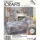 Bedroom Essentials Home Decorating Sewing Pattern McCalls 2973