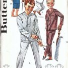 Boys Pajamas 60s Vintage Sewing Pattern Butterick 2341 Size 14