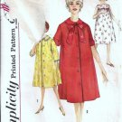 Misses Nightgown Robe 60s Vintage Sewing Pattern Simplicity 4214 Sz 14