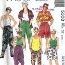 McCalls 5308 Boys Shirt, Tank Top, Pants, Shorts Pattern Size 3, 4, 5
