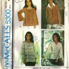 Misses 70s Tops Marlo Thomas Sewing Pattern Size 22, 24 McCalls 5300