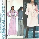 McCalls 5170 Misses Dress, Top Marlos Corner Sewing Pattern Size 14