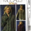 McCalls 4927 Misses Lined Jacket Sewing Pattern Size 16, 18, 20, 22