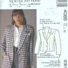 Misses Nancy Zieman Blazer Sewing Pattern McCalls 4085 Size 16
