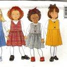 Girls Jumper, Top Sewing Pattern Butterick 4592 Size 2, 3, 4