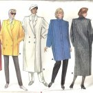 Misses Lined Coat Sewing Pattern Butterick 4044 Size 14, 16, 18
