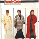 Misses Coat Jacket Sewing Pattern Butterick 4039 Size 6, 8, 10, 12, 14