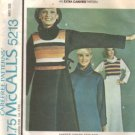 Misses 70s Dress, Top Sewing Pattern McCalls 5213 Size 10, 12