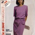 McCalls 5168 Misses 90s Side Tie Dress Sewing Pattern Size 6, 8, 10