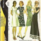 McCalls 3133 Misses Dress 70s Vintage Sewing Pattern Size 14