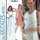 Miss Dress, Top Vintage Sewing Pattern McCalls 4515 Size JT 5, 6