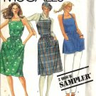 McCalls 0012 Misses Wrap Dress Vintage Sewing Pattern XS, S, M, L