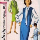 Misses 60s Blouse, Jumper Vtg Sewing Pattern Simplicity 5482 Size 12