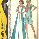 Misses Sweetheart Neckline Dress Vtg Sewing Pattern McCalls 3680 Size 16