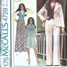 McCalls 4729 Misses Jacket Skirt Pants Vest Sewing Pattern Size 14