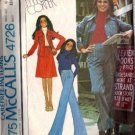 McCalls 4726 Misses Shirt-Jacket, Skirt, Pants Sewing Pattern Size 10