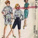 McCalls 4421 Misses 50s Shorts, Blouse Vintage Sewing Pattern Size 12