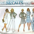 McCalls 4419 Misses Jacket, Vest, Skirt, Pants Sewing Pattern Size 12