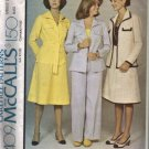 McCalls 4409 Misses 70s Jacket, Pants, Skirt Sewing Pattern Size 16
