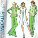 McCalls 4402 Misses 70s Jacket, Skirt, Pants Sewing Pattern Size 10