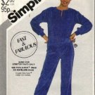 Misses Warm Up Top, Pants Sewing Pattern Simplicity 5493 Size 10, 12