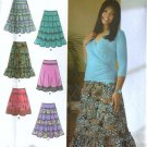 Misses Skirt Sewing Pattern Simplicity 4283 Size 10, 12, 14, 16, 18