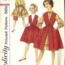 Girls Skirt, Dress, Jumper 50s Sewing Pattern Simplicity 3138 Size 12