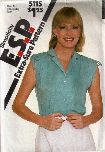 Sewing Pattern For Sleeveless Blouse 99
