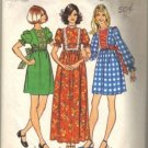 Miss 70s Dress Retro Sewing Pattern Simplicity 5371 Size 15, 16 JT