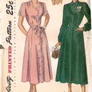 Misses Dress 40s Sewing Pattern Simplicity 2527 Size 18 1/2