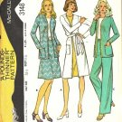 Misses Coat Jacket Skirt Pants Sewing Pattern McCalls 3148 Size 16 1/2