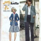 Misses Jacket Skirt Pants Vintage Sewing Pattern Simplicity 5452 Sz 12