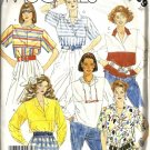 Misses 80s Loose Pullover Tops Sewing Pattern McCalls 2339 Size 16
