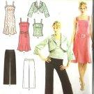 Misses Dress Top Jacket Pants Pattern Simplicity 3797 Size 6 - 14