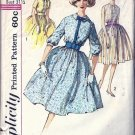 Misses 60s Shirtwaist Dress Sewing Pattern Simplicity 3385 Size 11
