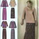 Misses Top, Wrap Skirt, Pant Sewing Pattern Simplicity 4886 Sz 10 - 18
