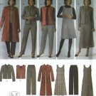 Womens Jumper, Coat, Pants Pattern Simplicity 4789 Size 10 12 14 16 18