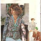 Misses Tie On Blouse 70s Sewing Pattern Butterick 4724 Size 12, 14