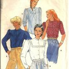 Misses Blouse Vintage Sewing Pattern Butterick 4174 Size 10
