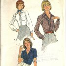 Misses 60s Blouse Vintage Sewing Pattern Butterick 3815 Size 12